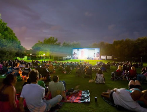 Towns with no Movie Theaters Make use of Outdoor Cinemas